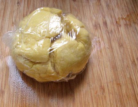 pasta dough, resting