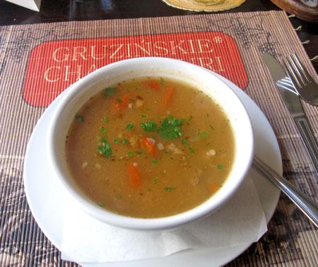 zupa chorizo