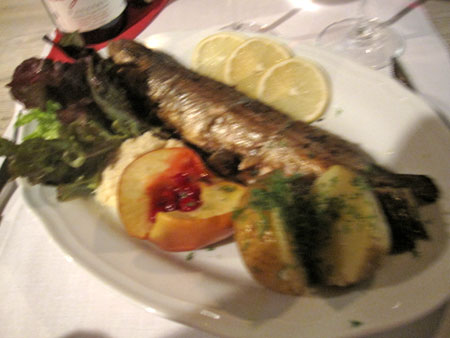 Carol's grilled trout