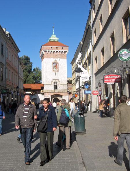 last city gate, restored