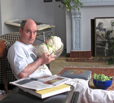 Eric and cauliflower