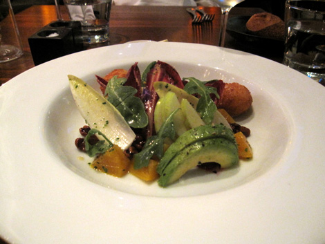 my beet salad; it seemed as though every chunk and leaf was carefully and individually placed. oh yes, it tasted sublime