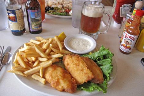 big enuf... fish is good