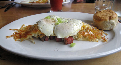 hash and egg