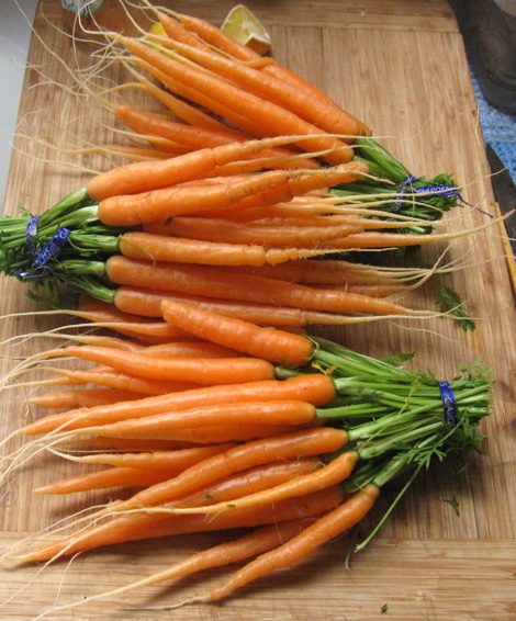 Wow, look at those carrots!