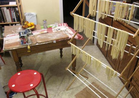 my pasta set-up