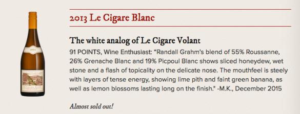Le Cigare Blanc